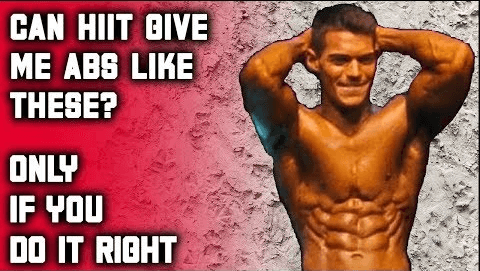 Can HIIT give me abs like these? HIIT Cardio Explanation