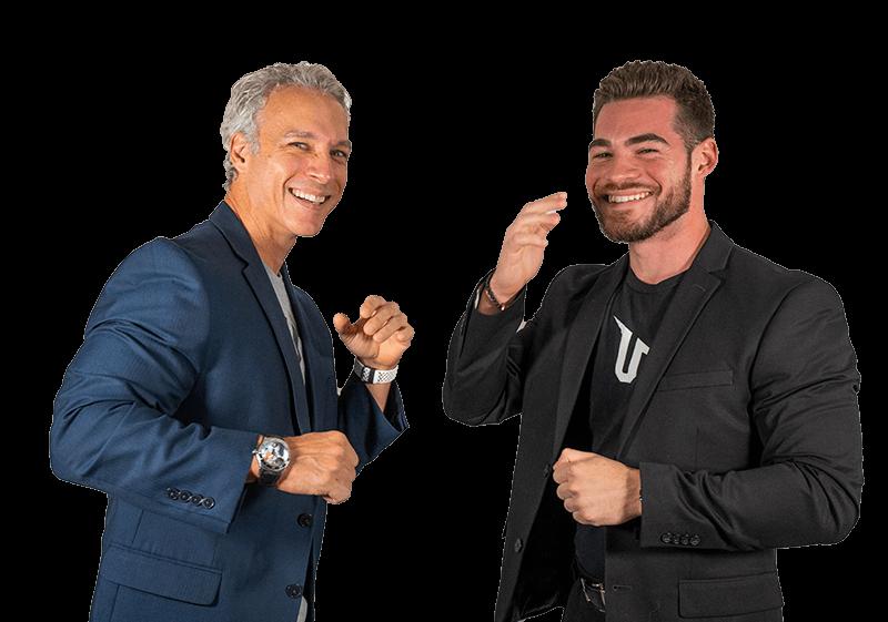 Father & Son Co-Founders of UNALTERED, Oscar & Zach Muñoz